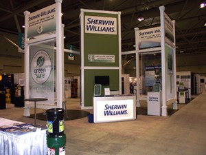 Photo of SherwinWilliams Booth