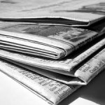 photo of newspapers