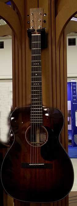 Martin Guitar with ForBoFlooring Fretboard