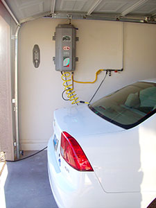 residential garage CNG refuling station