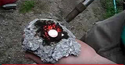 Penny in Hand Fire Video Cellulose Insulation Thumbnail