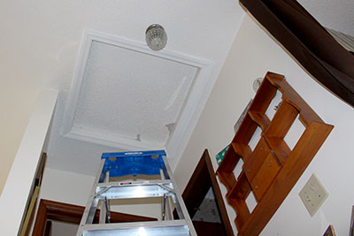 Typical Attic Access Hatch Photo CIMA