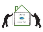 Cellulose Insulation Answer Man CIMA Graphic