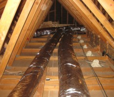 Photo Of Common Attic Ducts