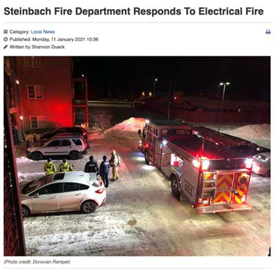 Steinbach.com-link to condo fire slowed by cellulose insulation
