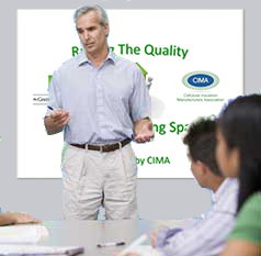 Cellulose Insulaton Manufacturers Association Members Offer Professional Presentaitons