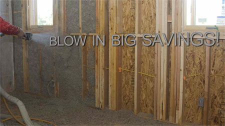 Save with Federal Tax Credits for Blown In Celulose Insulation from CIMA
