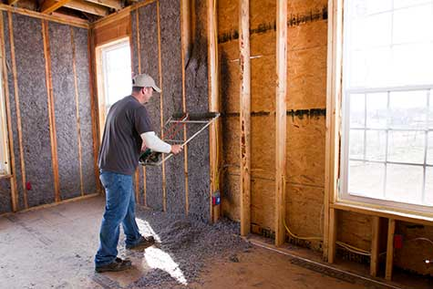 Basic information for homeowners about cellulose insulation and other types of insulation